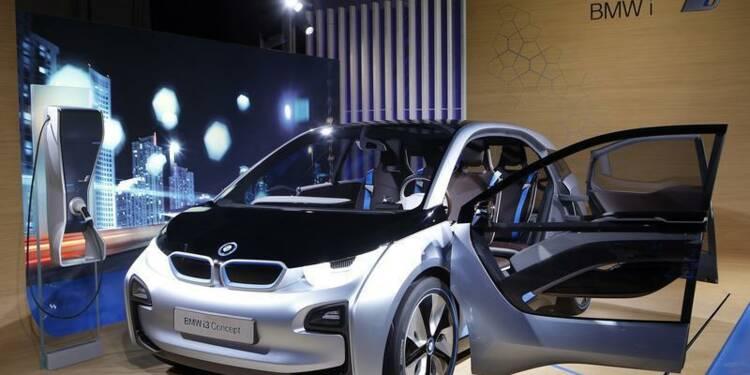 BMW lance lundi sa première voiture électrique