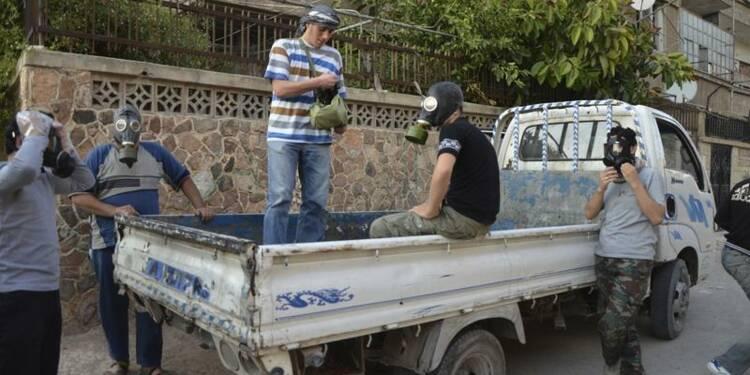 Un rapport US attribue l'attaque chimique de Damas au régime