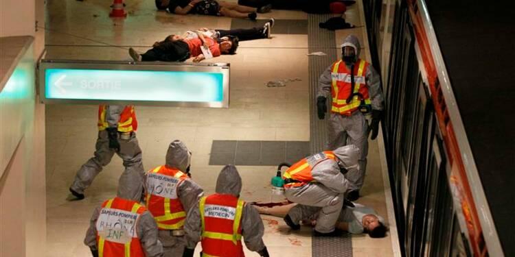 Lyon, capitale des simulations d'attentats pour deux jours
