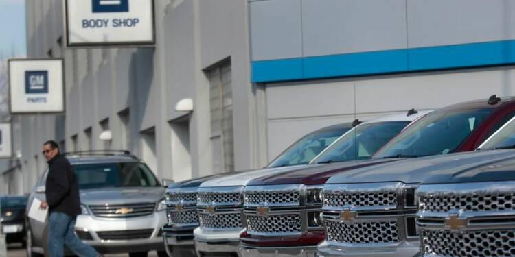 GM a accru ses ventes de 2% au 1er trimestre grâce à la Chine