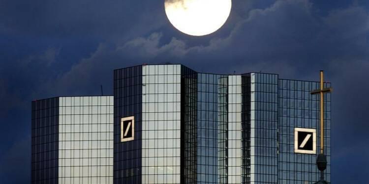 Deutsche Bank annonce avoir levé 2,96 milliards d'euros