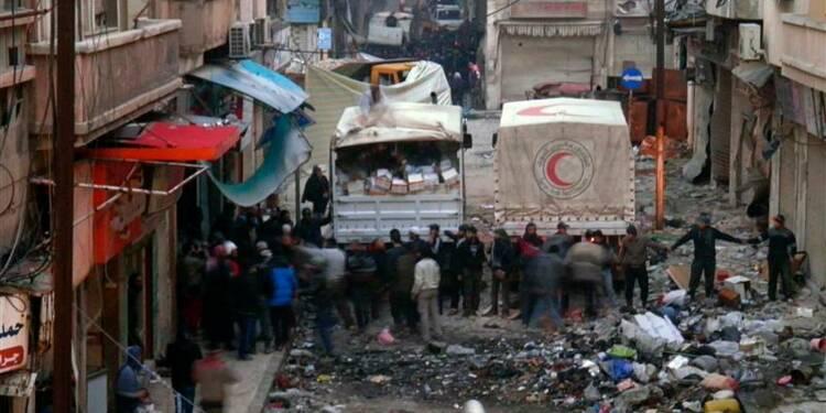 L'Onu s'indigne des tirs essuyés par un convoi humanitaire à Homs