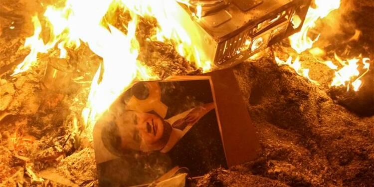 Affrontements meurtriers à Kiev, Ianoukovitch menace