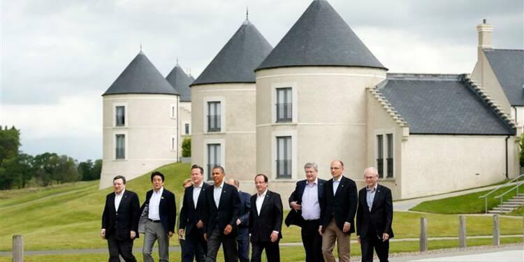 Le communiqué du G8 n'évoque pas le sort de Bachar al Assad