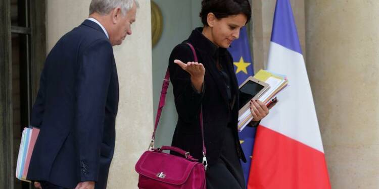 "Le remaniement, de la ""littérature"", selon Najat Vallaud-Belkacem"