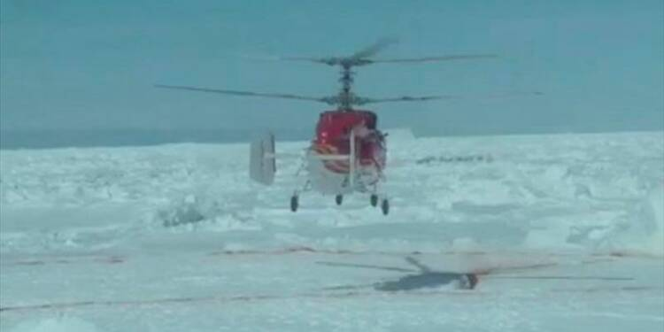 L'évacuation aérienne de l'Akademik Chokalski à nouveau reportée