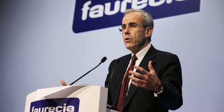 Faurecia renoue avec le dividende, croissance en vue en 2014
