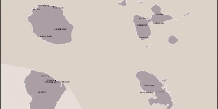 Départements d'outre-mer : toujours sous perfusion des services publics