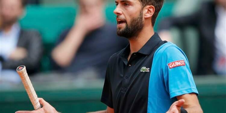 Roland-Garros: Benoît Paire plie face à Kei Nishikori