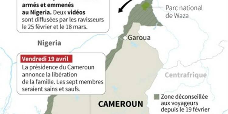 Le Cameroun dit que les Français enlevés en février sont libres