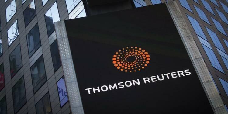 Thomson Reuters livre un bénéfice d'exploitation en recul de 50%