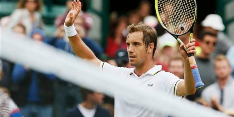 Wimbledon: Gasquet, seul Français à passer entre les gouttes