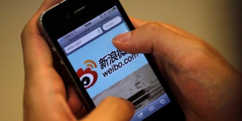 Le service de messagerie chinois Weibo valorisé 4 milliards de dollars