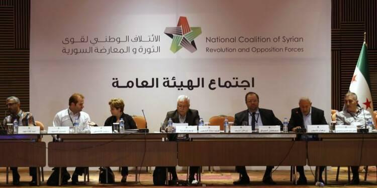 Ahmad Djarba élu à la tête de l'opposition syrienne
