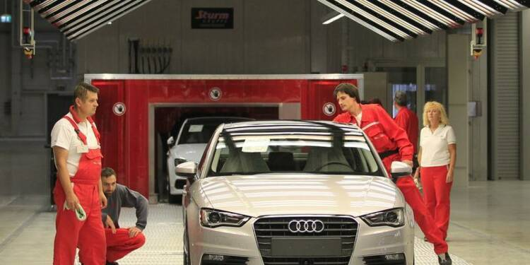 Audi atteindra avec deux ans d'avance son objectif de ventes