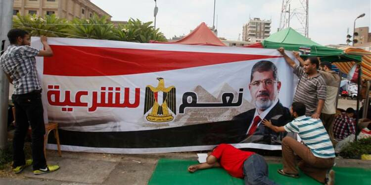 Mohamed Morsi évoque la formation d'un gouvernement d'union