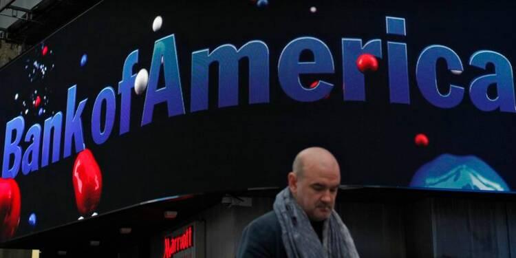 Bank of America en perte à cause de lourds frais pour litiges
