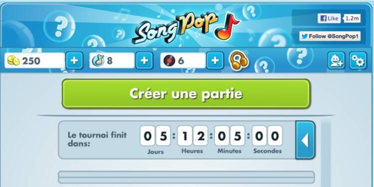 Le jeu SongPop rend accros 45 millions d'internautes