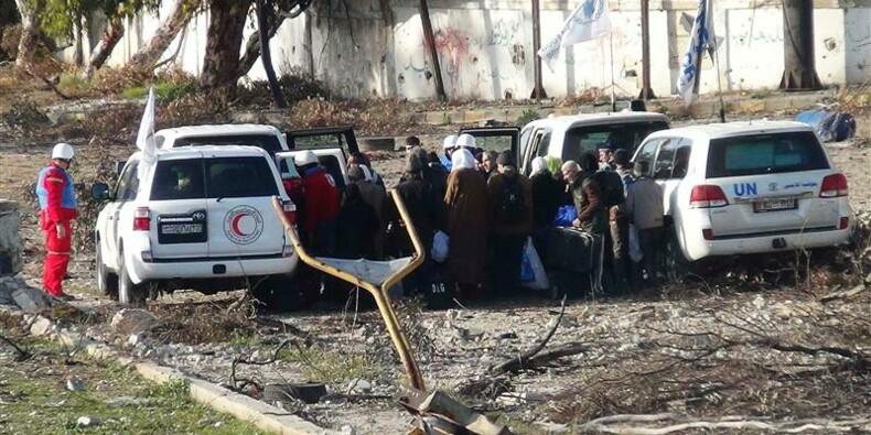 Deux cent civils pourraient quitter la Vieille ville de Homs