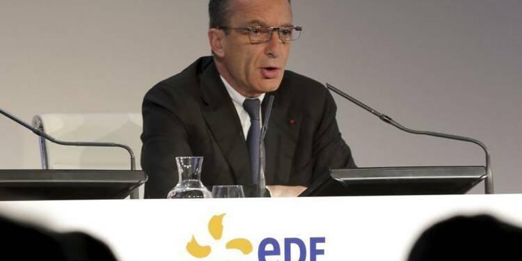 Le salaire du PDG d'EDF Henri Proglio baisse de 300.000 euros