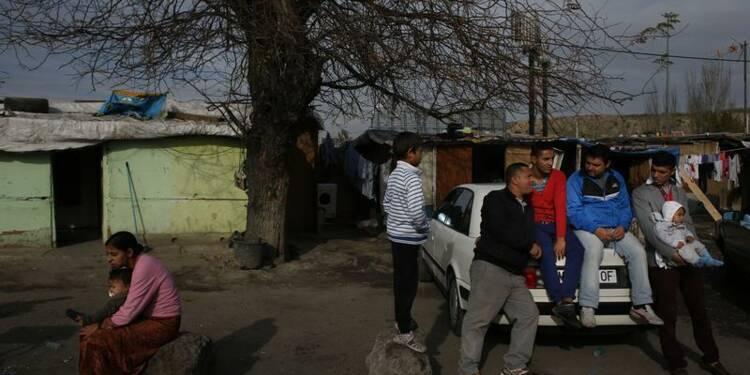 Les Roms privés de droit de sortie en Macédoine