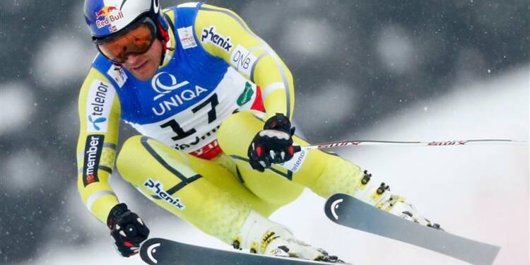 Ski: Svindal champion du monde de descente, Poisson en bronze