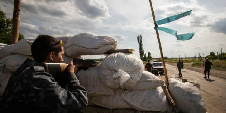 Hollande et Merkel notent les gestes de la Russie sur l'Ukraine