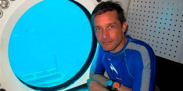 Fabien Cousteau veut faire mieux que son grand-père sous l'eau