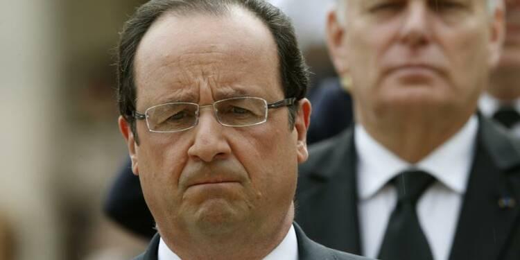 Hollande (40%) et Ayrault (45%) en baisse dans le baromètre Ifop