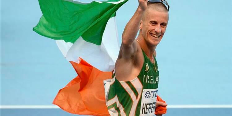 Athlétisme: l'Irlandais Robert Heffernan sacré sur 50 km marche