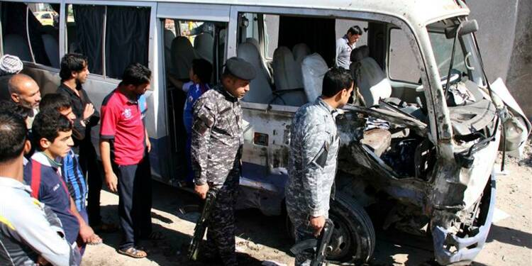 Séries d'attentats contre des chiites à Bagdad, 50 morts