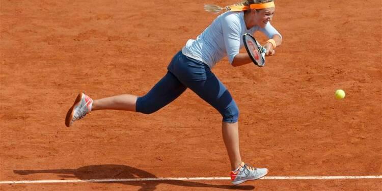 Roland-Garros: Azarenka assomme Schiavone et va en quarts