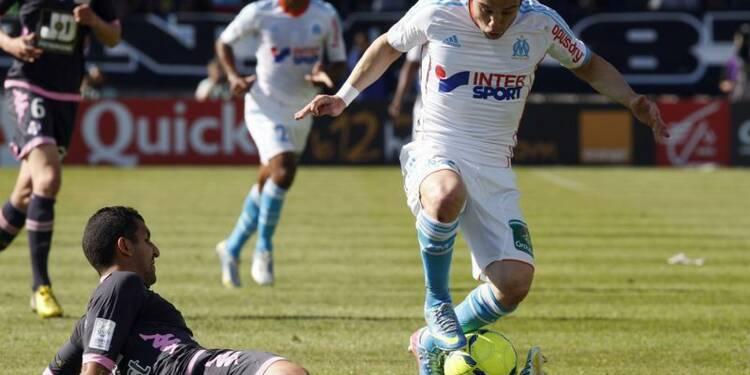 Ligue 1: l'OM retarde le sacre du PSG et s'assure la C1