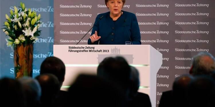L'Allemagne prête à jouer sur les traités pour l'union bancaire