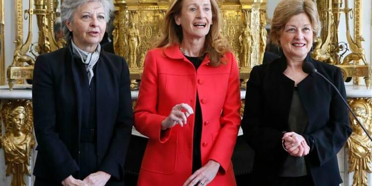 Trois femmes du Conseil constitutionnel prêtent serment