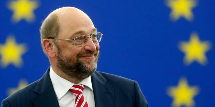L'Allemand Martin Schulz réélu président du Parlement européen