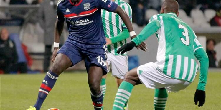 Ligue Europa: Lyon bat le Bétis et se qualifie pour les 16es