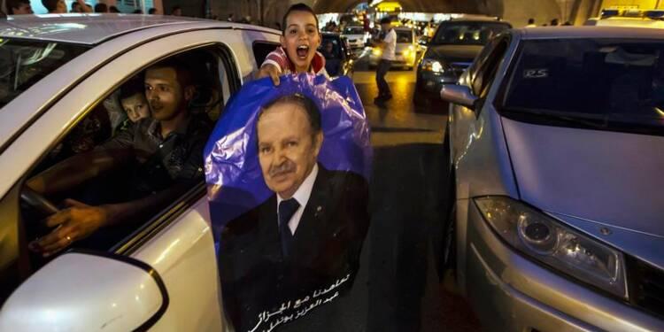 Bouteflika officiellement réélu avec 81,53% des voix en Algérie