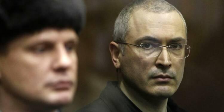 Vladimir Poutine a signé la grâce de Mikhaïl Khodorkovski