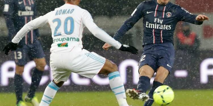Ligue 1: le PSG bat Marseille 2-0 pour les débuts de Beckham