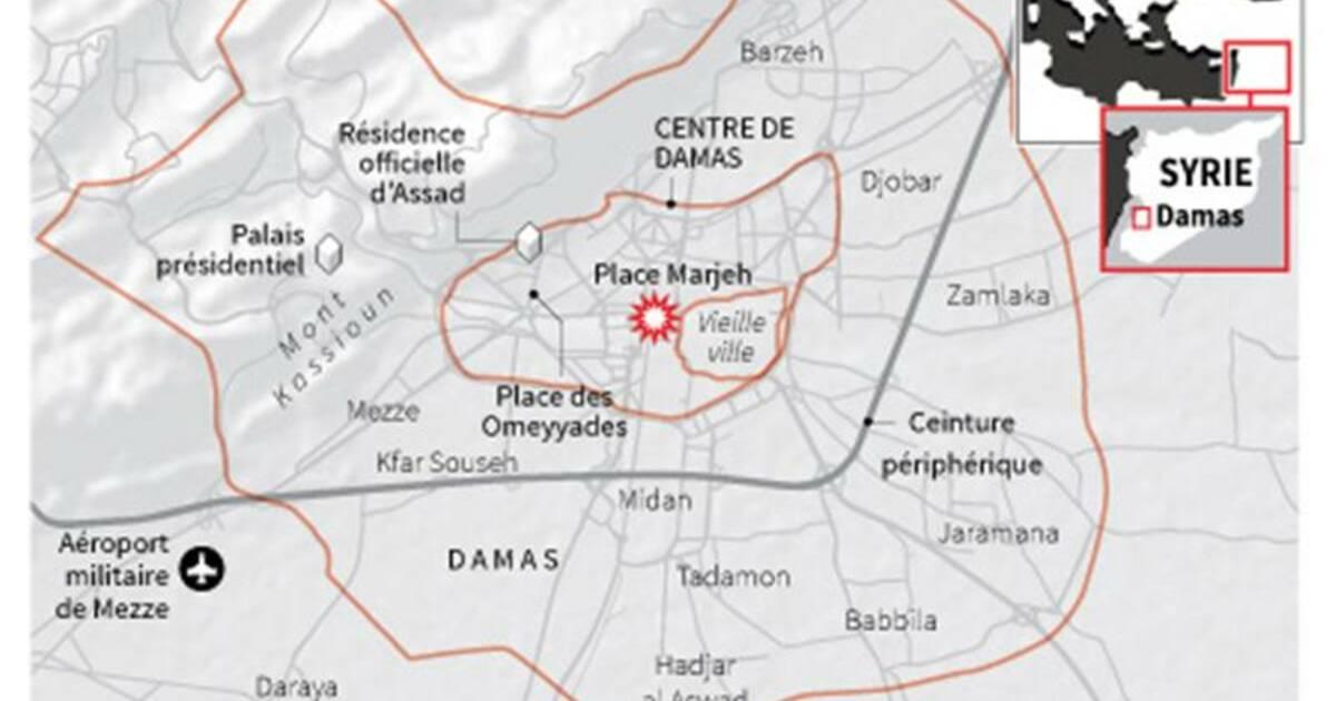 attentat meurtrier en plein coeur de damas capital fr