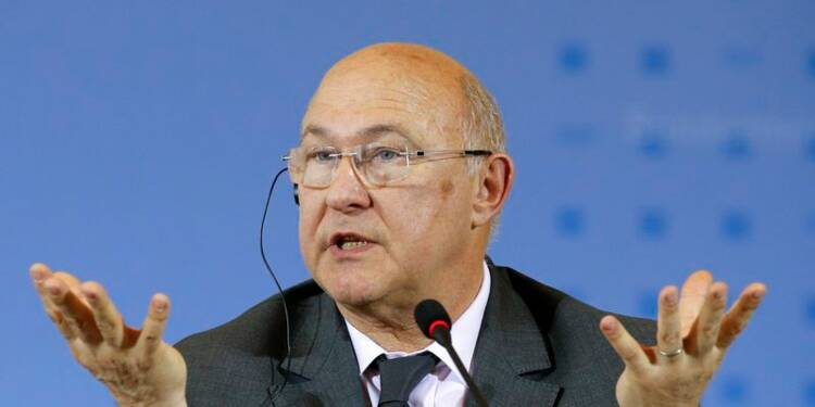"""Michel Sapin juge """"raisonnable"""" une croissance de 1% cette année"""