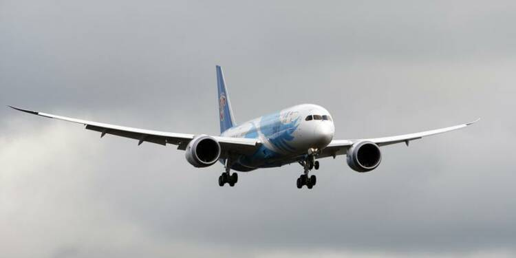 Vol d'essai sans encombre du Boeing 787 Dreamliner