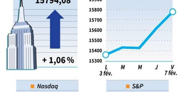 Wall Street finit en hausse malgré le rapport sur l'emploi