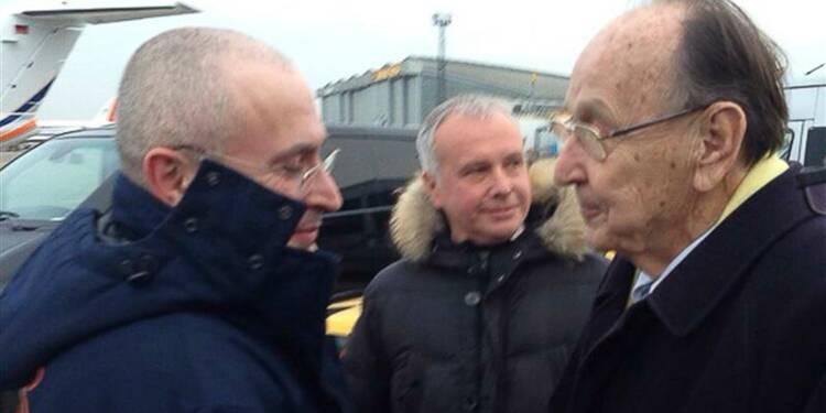Mikhaïl Khodorkovski en route pour l'Allemagne