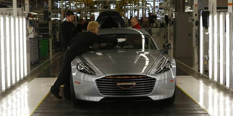 Daimler prendra une participation de 5% dans Aston Martin