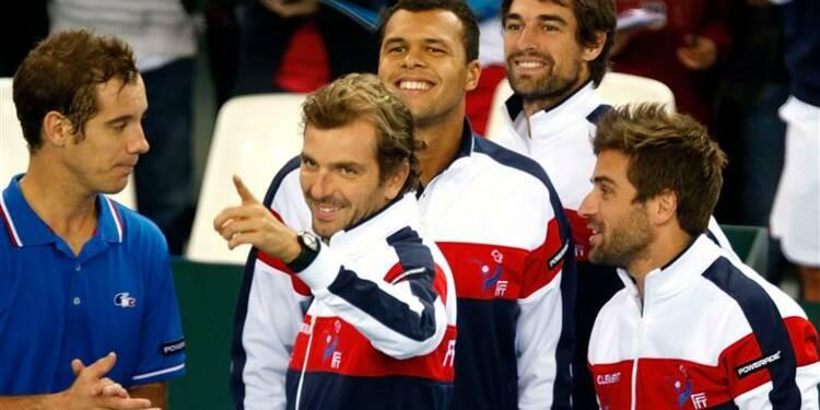 Coupe Davis: la France rend une copie sans faute contre Israël