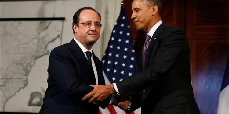Hollande et Obama célèbrent l'amitié entre la France et les Etats-Unis
