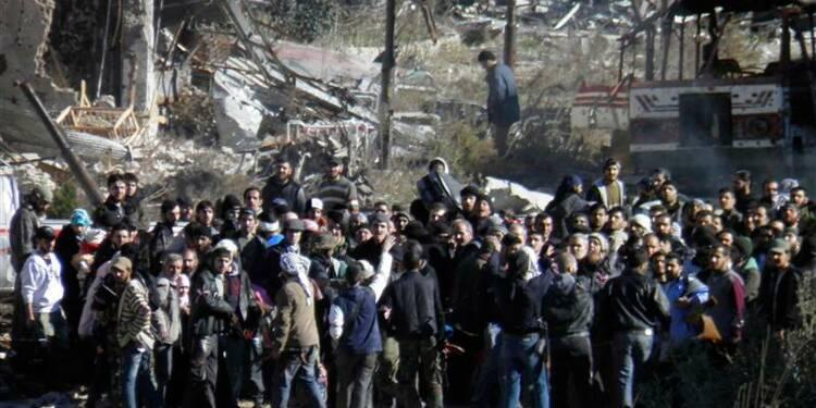 Trêve prolongée de 3 jours à Homs, 1.400 personnes déjà évacuées