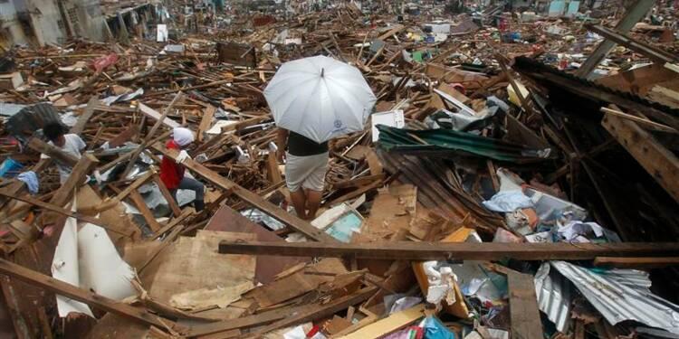 Manille revoit nettement à la baisse le bilan du typhon